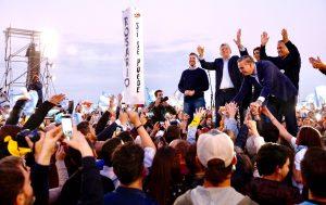 Macri pidió «explotar las urnas de votos por el futuro» y evitar la vuelta «del pasado»