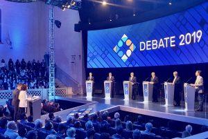 El tema «economía y finanzas» recalentó el debate con duros cruces entre Alberto F. y Macri