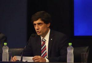 Lacunza negó modificaciones en el control de cambios