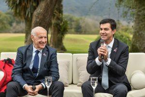 De cara al domingo electoral, Lavagna y Urtubey cierran campaña en la cima del cerro San Bernardo