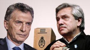 Escenario electoral: Según sondeo, Alberto F. le saca 20 puntos a Macri