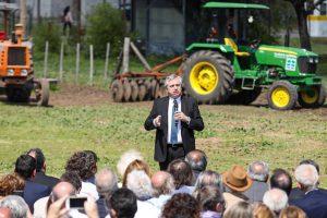 Fernández sobre la propuesta contra el hambre: «puede empezar a ser materializada hoy»