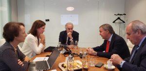 Schiaretti busca financiamiento del Santander para nuevos proyectos