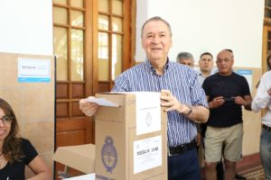 Tras conocerse las cifras oficiales, Schiaretti felicitó a Alberto F. por el triunfo en las urnas