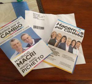 La Justicia Electoral prohibió el «delibery» de boletas cortadas a domicilio de Hacemos por Córdoba