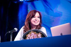 CFK calentó la previa del debate presidencial de esta noche
