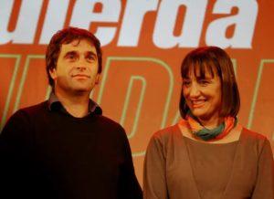 Los dirigentes de izquierda Del Plá y Solano ya están en Chile para «apoyar la rebelión popular»