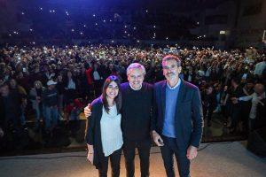 Alberto F. espera «conciliar políticas de cambio» para una transición ordenada
