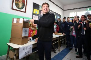 Kicillof promete «combatir el narcotráfico» cuando sea gobernador