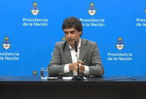 Lacunza dijo que con el cepo cambiario apuntan a tener «una transición ordenada»