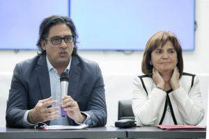Garavano y Bullrich presentaron el proyecto de Ley de la no Mentira