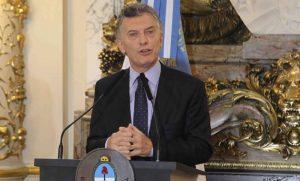 """Macri abogó por alcanzar """"un acuerdo amplio"""" para lograr «estabilidad macroeconómica"""""""