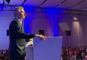En tribuna industrial, Macri habló del «diálogo» y la «libertad» para opinar en la Argentina de hoy