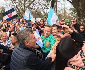 Macri: «Nosotros vamos a decir el 27 que no volvemos atrás»
