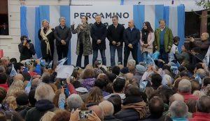 Al rechazar el «dedito disciplinador» K, Macri dijo que «el poder está en cada uno de ustedes»