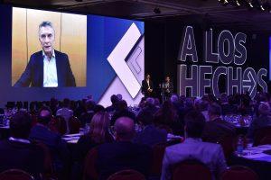 Ante empresarios, Macri renovó su apuesta por dar vuelta el resultado de las PASO, pese a que un sector del «círculo rojo» lo dio por terminado