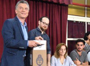 Al calificarla como «una elección histórica», Macri pronosticó «un participación récord como nunca antes»