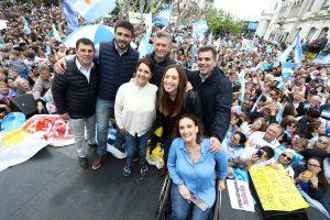 Macri: «Acá no hay choripán, hay convicciones»
