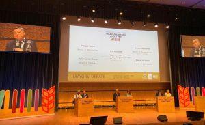 Desde Francia, Mestre se refirió al cumplimiento de la Agenda 2030 como «un desafío para todos»
