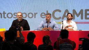 Peña pidió esperar los resultados, pero dejó abierta la puerta a un diálogo entre Macri y Alberto F.