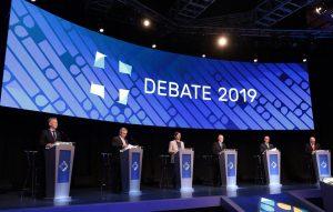 Máxima tensión en el debate presidencial por las acusaciones cruzadas sobre  corrupción K y M