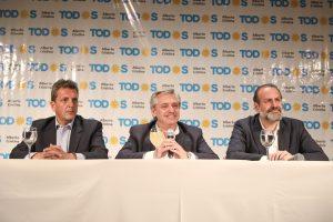 """Alberto F. le pidió a Macri  que ante el cambio de Gobierno «colabore para no hacer todo más difícil"""""""