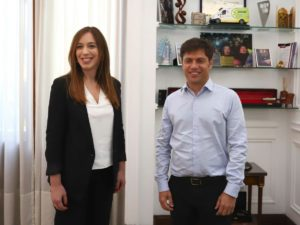 Kicillof le pidió a Vidal que derogue el último aumento de tarifas de la energía