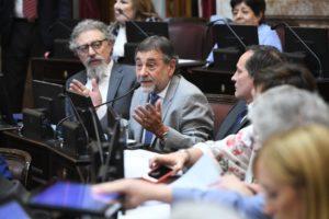 En nombre del PJ, Caserio le pidió al Gobierno que «dé asilo» a los dirigentes bolivianos que corren peligro