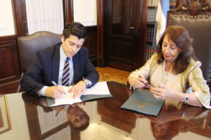 Ley Micaela: Justicia firmó un convenio con el Poder Judicial