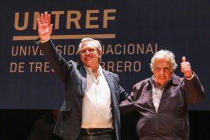 «Pepe» Mujica calificó a Alberto F. de «amigo necesario e imprescindible»