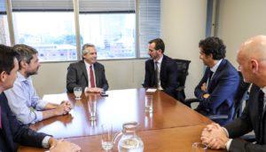 Alberto F. convocó al Grupo Carrefour a sumarse al plan contra el hambre y a invertir en la Argentina