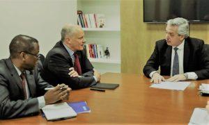 """Alberto F. insiste en un acuerdo de pago con el FMI que se pueda cumplir, «sin más ajuste"""""""