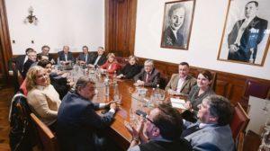 El bloque del PJ en el Senado en estado deliberativo