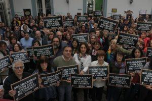 Ante la represión a docentes chubutenses, la Ctera convocó a un paro nacional para este viernes
