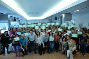 La Municipalidad certificó a 160 emprendedoras de la ciudad