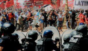 El lunes inicia el juicio contra militantes de la izquierda por enfrentar la reforma previsional