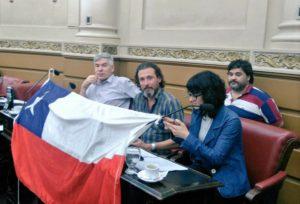 Al solidarizarse con el pueblo chileno, la izquierda cordobesa demandó «fuera Piñera»