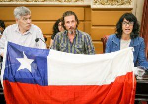 Dirigentes de la izquierda cordobesa viajan a Chile en apoyo a la rebelión popular