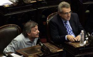 Diputados: Gioja confía en que Máximo  sea «un buen jefe de bloque»