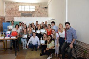 El Club de Emprendedores certificó 20 nuevos proyectos productivos