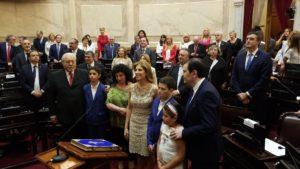 Senado: Juraron los 24 parlamentarios electos y designaron a las nuevas autoridades