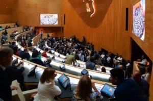 En la primera sesión en el nuevo recinto, la Unicameral aprobó seis leyes