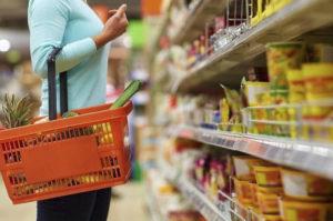 Las ventas en supermercados cayeron 8,8%