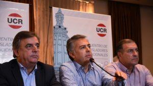 Interna a flor de piel:  diputados radicales amenazan con romper el bloque si Cornejo no es elegido jefe de la bancada