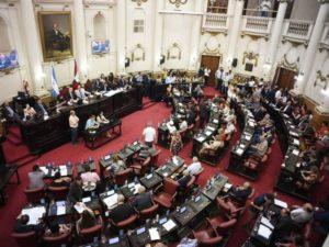 La Unicameral sesionó por última vez en el histórico recinto del Palacio Legislativo