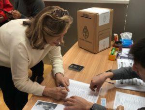 El apoderado del PJ nacional reafirmó la denuncia por el voto en el exterior