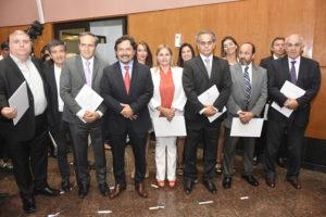 Sáenz tomó juramento a nuevos funcionarios provinciales