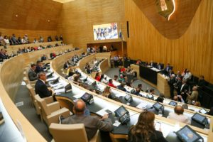 La bancada oficialista aprobó el Presupuesto 2020 girado por Schiaretti