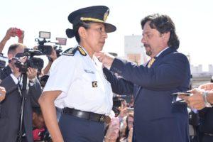 Sáenz eligió a una mujer para dirigir la Policía de Salta