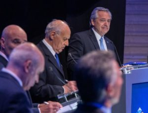 Por la designación de cargos, Pichetto señaló que Lavagna  hizo una «alianza» con el Gobierno albertista